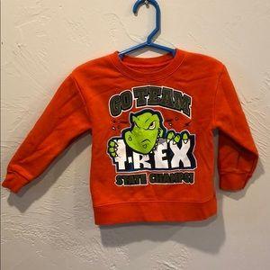 T-Rex sweat shirt